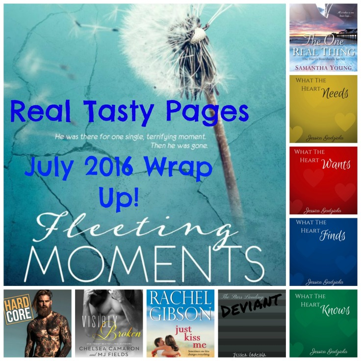 July 2016 Wrap Up