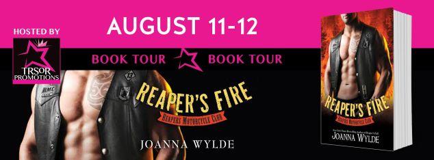 reaper's fire book tour