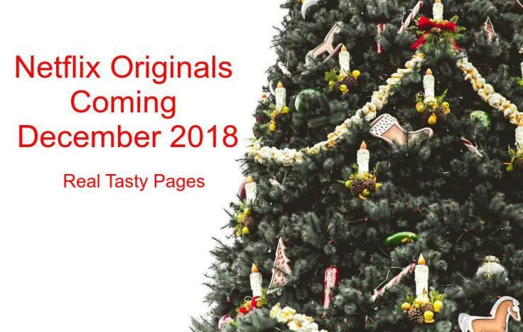 Netflix Originals Coming December 2018